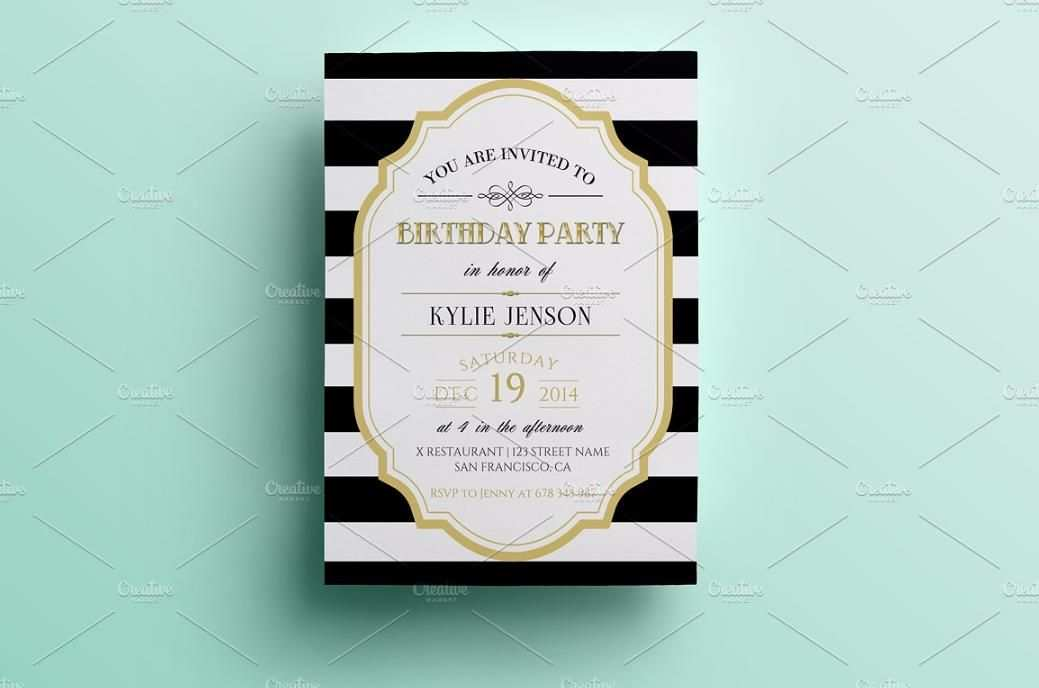 71 Visiting Birthday Invitation Design Template Psd For Free by Birthday Invitation Design Template Psd