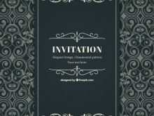 72 Blank Elegant Invitation Template Free in Word for Elegant Invitation Template Free