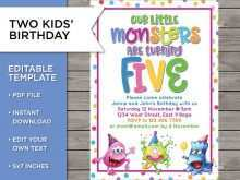 72 Customize Birthday Invitation Templates For 4 Year Old Boy Templates with Birthday Invitation Templates For 4 Year Old Boy