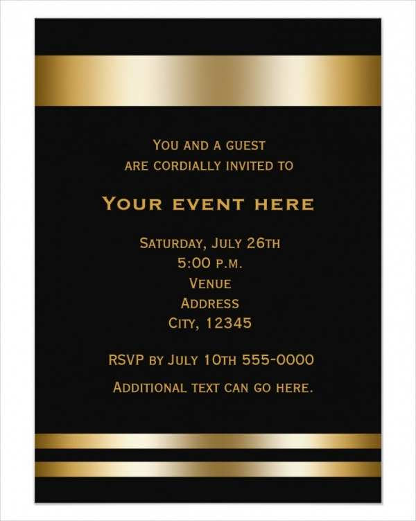 72 Format Blank Dinner Invitation Template in Photoshop by Blank Dinner Invitation Template