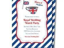72 Free Royal Tea Party Invitation Template Formating with Royal Tea Party Invitation Template