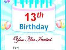 72 Report Birthday Invitation Template Blank for Ms Word by Birthday Invitation Template Blank