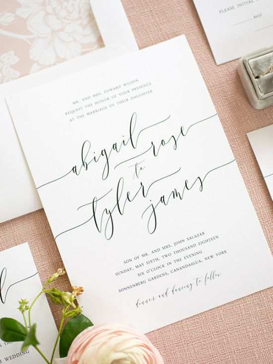 72 The Best Simple And Elegant Wedding Invitation Template Photo by Simple And Elegant Wedding Invitation Template