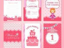 73 Blank Birthday Invitation Template Princess Layouts with Birthday Invitation Template Princess