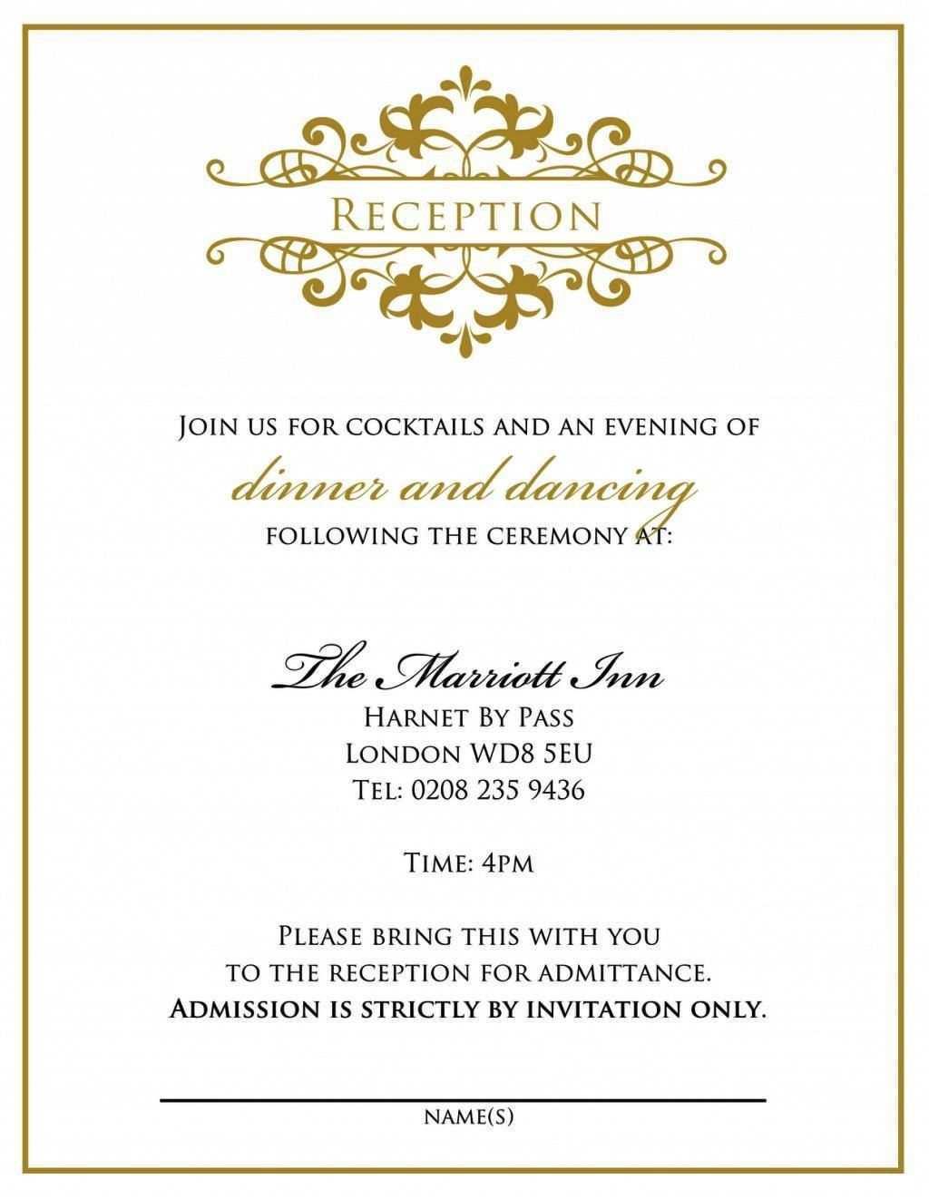 73 Create Wedding Dinner Invitation Text Message With Stunning Design with Wedding Dinner Invitation Text Message