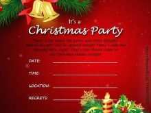 73 Creative Christmas Party Invitation Template Formating by Christmas Party Invitation Template