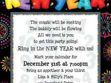 73 Creative New Year Party Invitation Letter Template Maker by New Year Party Invitation Letter Template