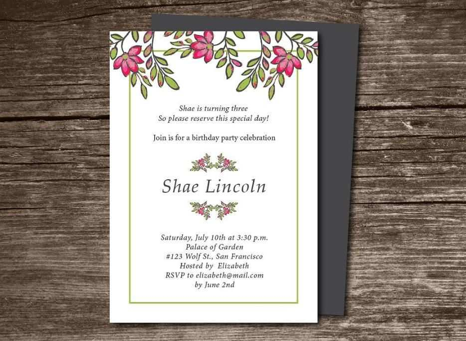 73 Format Party Invitation Template Indesign Templates for Party Invitation Template Indesign