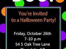 73 Free Birthday Invitation Template Halloween Now by Birthday Invitation Template Halloween