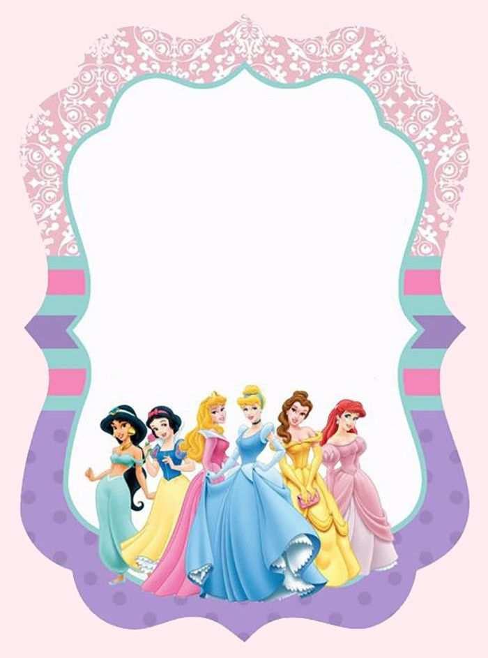 73 Free Printable Birthday Invitation Templates Disney Princess Maker by Birthday Invitation Templates Disney Princess