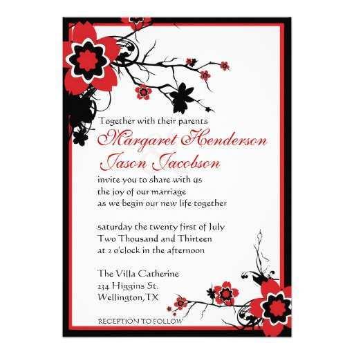 73 Free Printable Japanese Wedding Invitation Template Now for Japanese Wedding Invitation Template