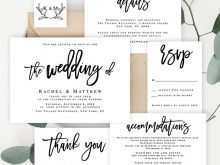 73 Printable Wedding Invitation Template Rsvp With Stunning Design by Wedding Invitation Template Rsvp