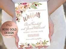 73 Standard Birthday Invitation Template Rose Gold With Stunning Design for Birthday Invitation Template Rose Gold