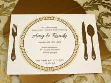 73 The Best Example Of A Dinner Invitation Templates by Example Of A Dinner Invitation