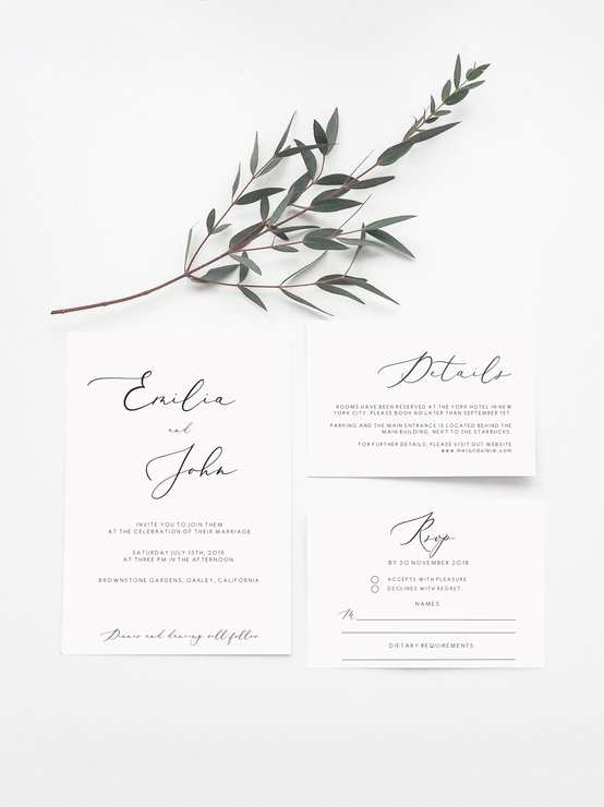 74 Creating Wedding Invitation Template Rsvp for Ms Word with Wedding Invitation Template Rsvp