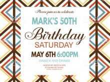 74 Creative 50Th Birthday Invitation Template Vector For Free for 50Th Birthday Invitation Template Vector