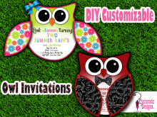 74 Customize Our Free Owl Wedding Invitation Template PSD File by Owl Wedding Invitation Template