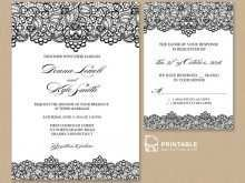 74 Customize Wedding Invitation Template Rsvp PSD File by Wedding Invitation Template Rsvp