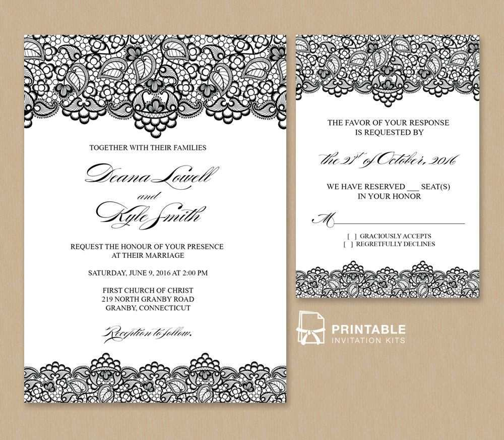 74 Customize Wedding Invitation Template Rsvp PSD File by Wedding Invitation Template Rsvp