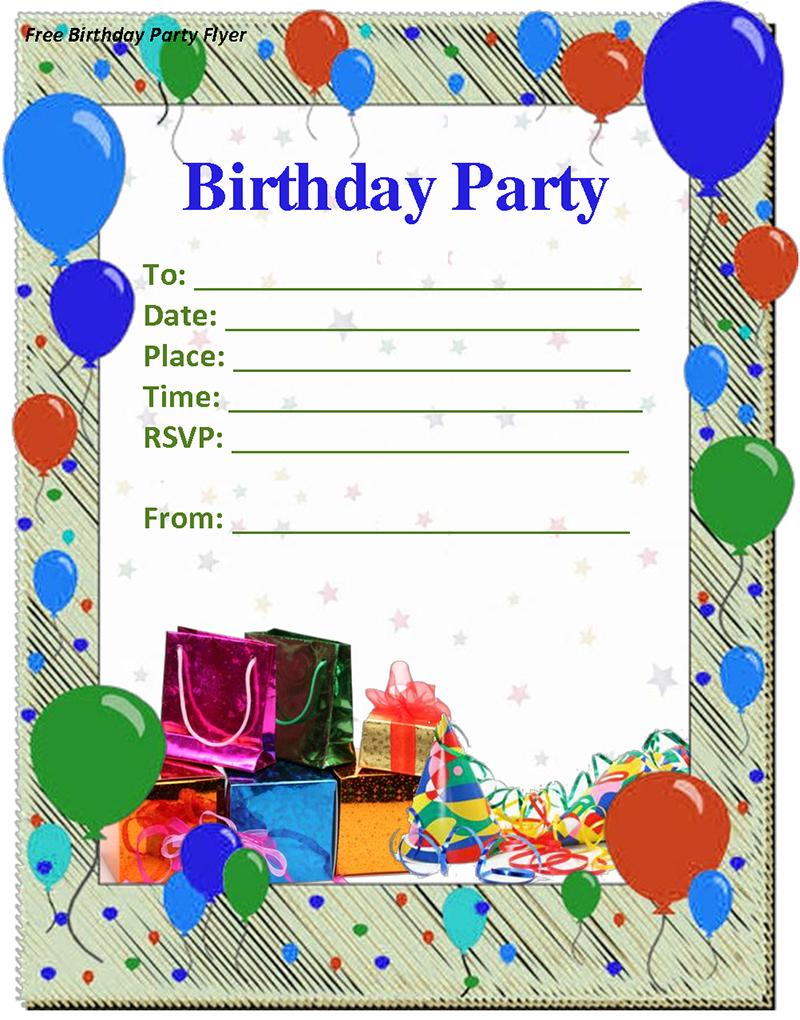 74 How To Create Birthday Party Invitation Template Boy Templates with Birthday Party Invitation Template Boy
