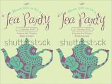 74 Visiting Afternoon Tea Party Invitation Template in Word by Afternoon Tea Party Invitation Template