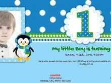 75 Adding 1St Year Birthday Invitation Card Template PSD File for 1St Year Birthday Invitation Card Template
