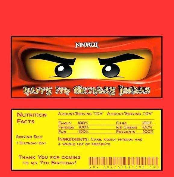 75 Blank Ninjago Party Invitation Template For Free by Ninjago Party Invitation Template