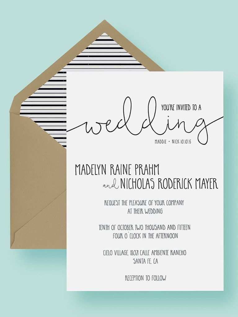 75 Creating Blank Wedding Invitation Template Formating for Blank Wedding Invitation Template