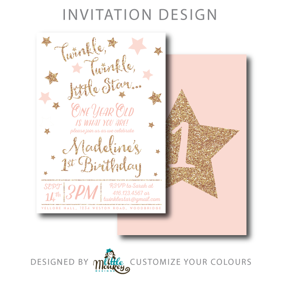 75 Customize Twinkle Twinkle Little Star Birthday Invitation Template Free for Ms Word by Twinkle Twinkle Little Star Birthday Invitation Template Free