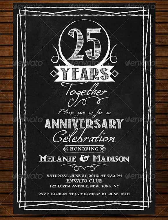 75 Free Blank Chalkboard Invitation Template in Photoshop by Blank Chalkboard Invitation Template