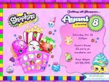 75 Free Shopkins Birthday Invitation Template Free Photo for Shopkins Birthday Invitation Template Free