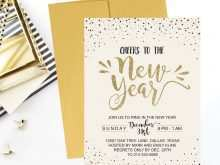 75 Printable New Year Party Invitation Letter Template PSD File for New Year Party Invitation Letter Template