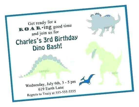 75 Visiting Blank Dinosaur Invitation Template With Stunning Design by Blank Dinosaur Invitation Template