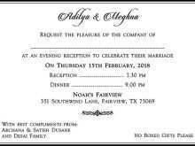76 Blank Marriage Reception Invitation Wordings For Hindu in Word with Marriage Reception Invitation Wordings For Hindu
