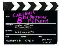 76 Blank Party Invitation Movie Template Download with Party Invitation Movie Template
