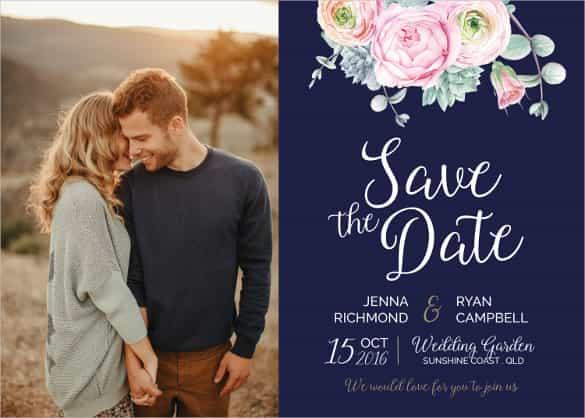 76 Create Royal Blue Wedding Invitation Template For Free with Royal Blue Wedding Invitation Template