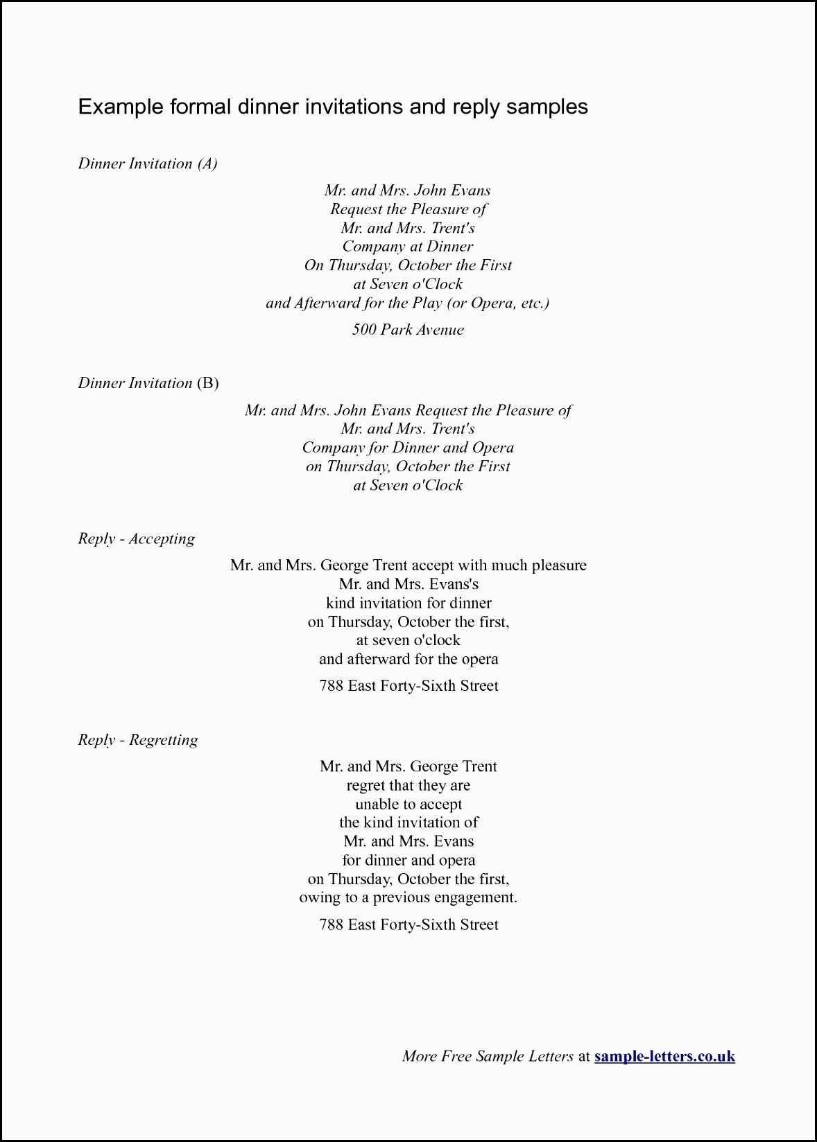 76 Customize Dinner Invitation Response Sample Maker by Dinner Invitation Response Sample