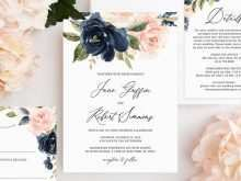 76 Customize Our Free Floral Wedding Invitation Template Maker with Floral Wedding Invitation Template