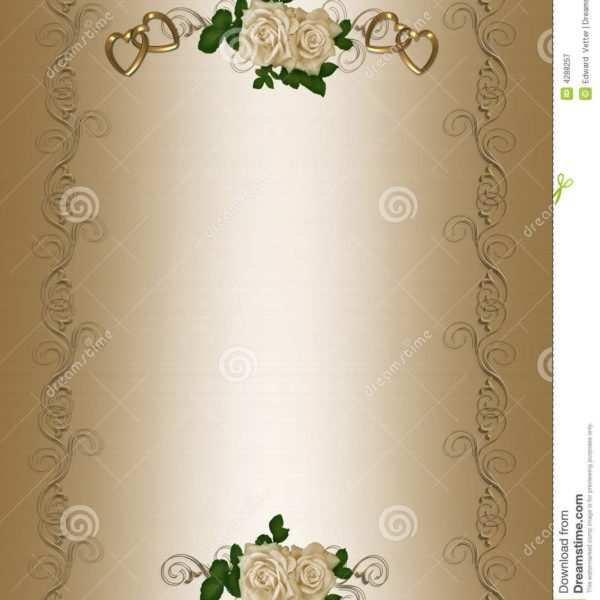76 Format Blank Invitation Card Template Design PSD File with Blank Invitation Card Template Design