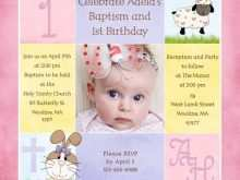 76 Visiting Baby Birthday Invitation Template For Free with Baby Birthday Invitation Template