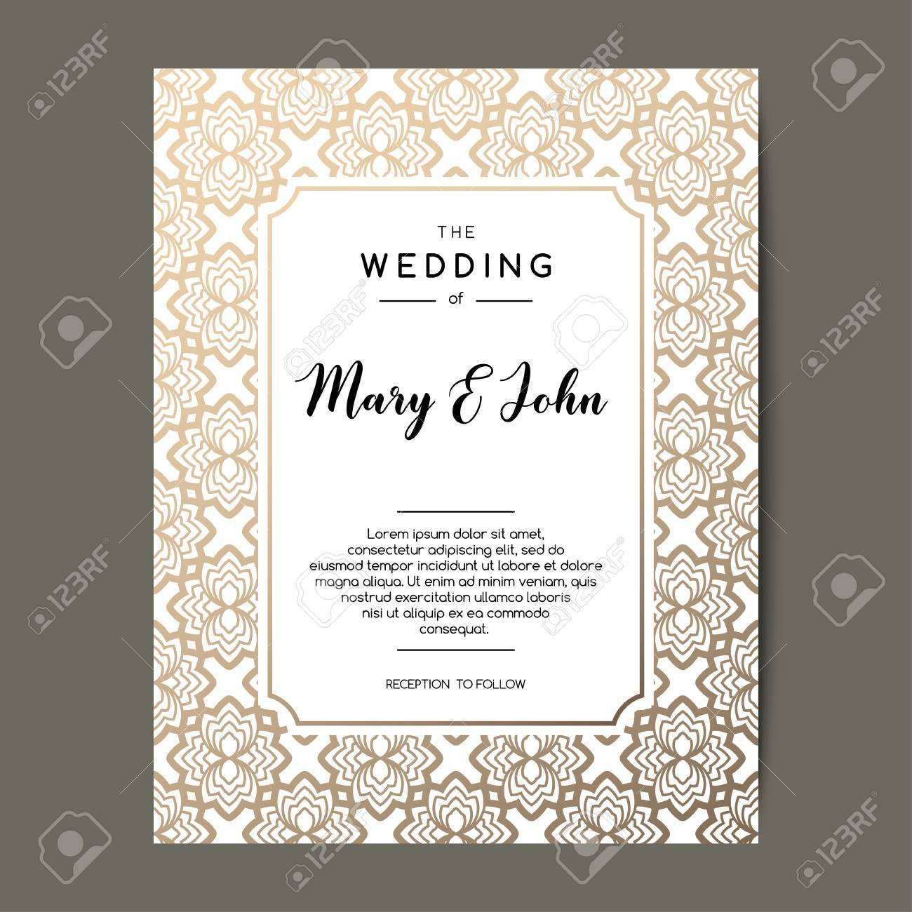 77 Create Elegant Wedding Invitation Designs Free in Word by Elegant Wedding Invitation Designs Free