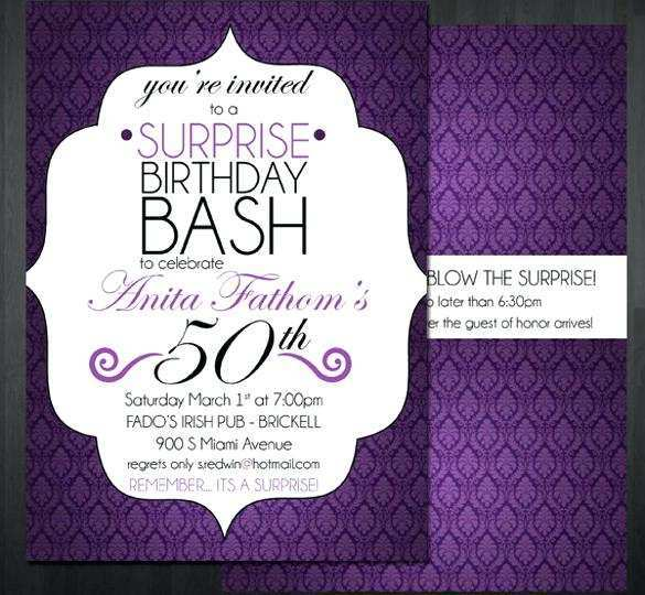 77 Customize Our Free 70Th Birthday Invitation Template Word With Stunning Design for 70Th Birthday Invitation Template Word