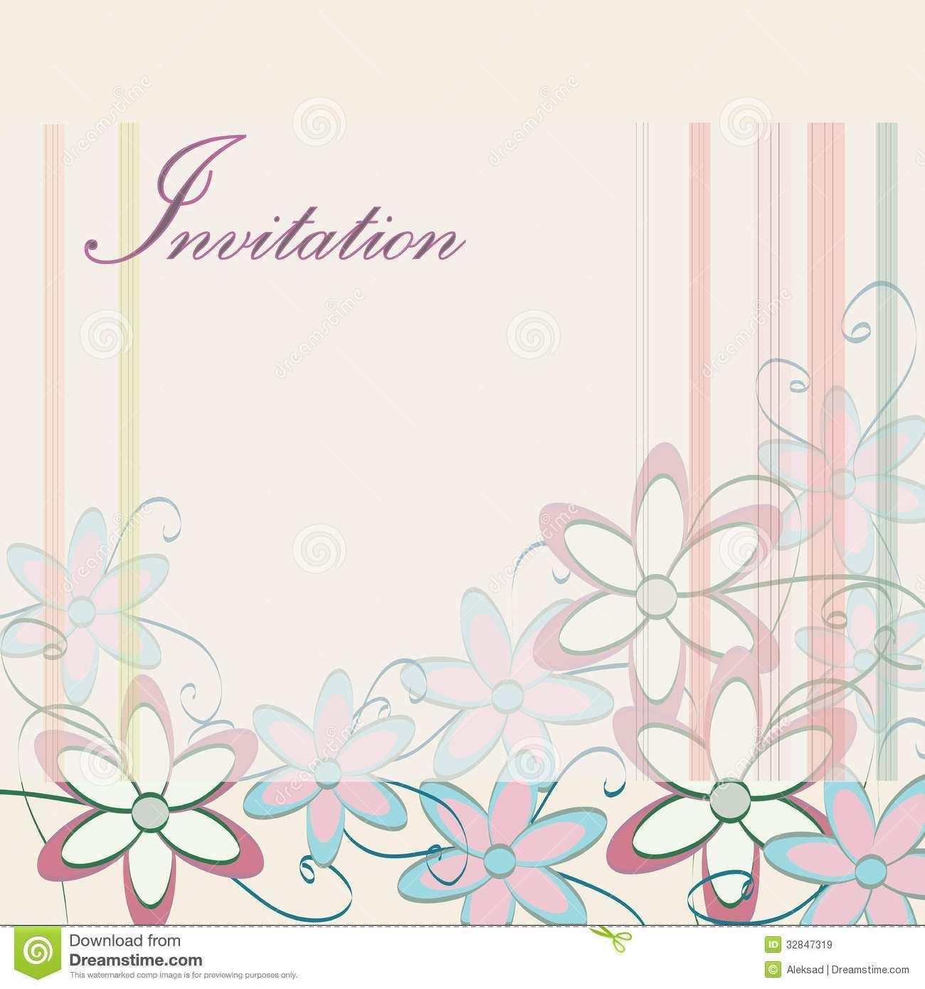 77 Free Blank Invitation Card Template Psd Formating for Blank Invitation Card Template Psd