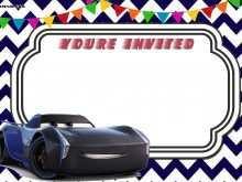 77 Report Cars Birthday Invitation Template Download with Cars Birthday Invitation Template