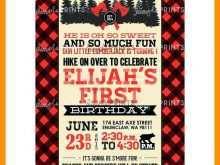 77 The Best Lumberjack Birthday Invitation Template Templates by Lumberjack Birthday Invitation Template