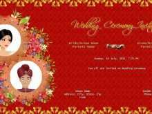 Hindu Wedding Invitation Template