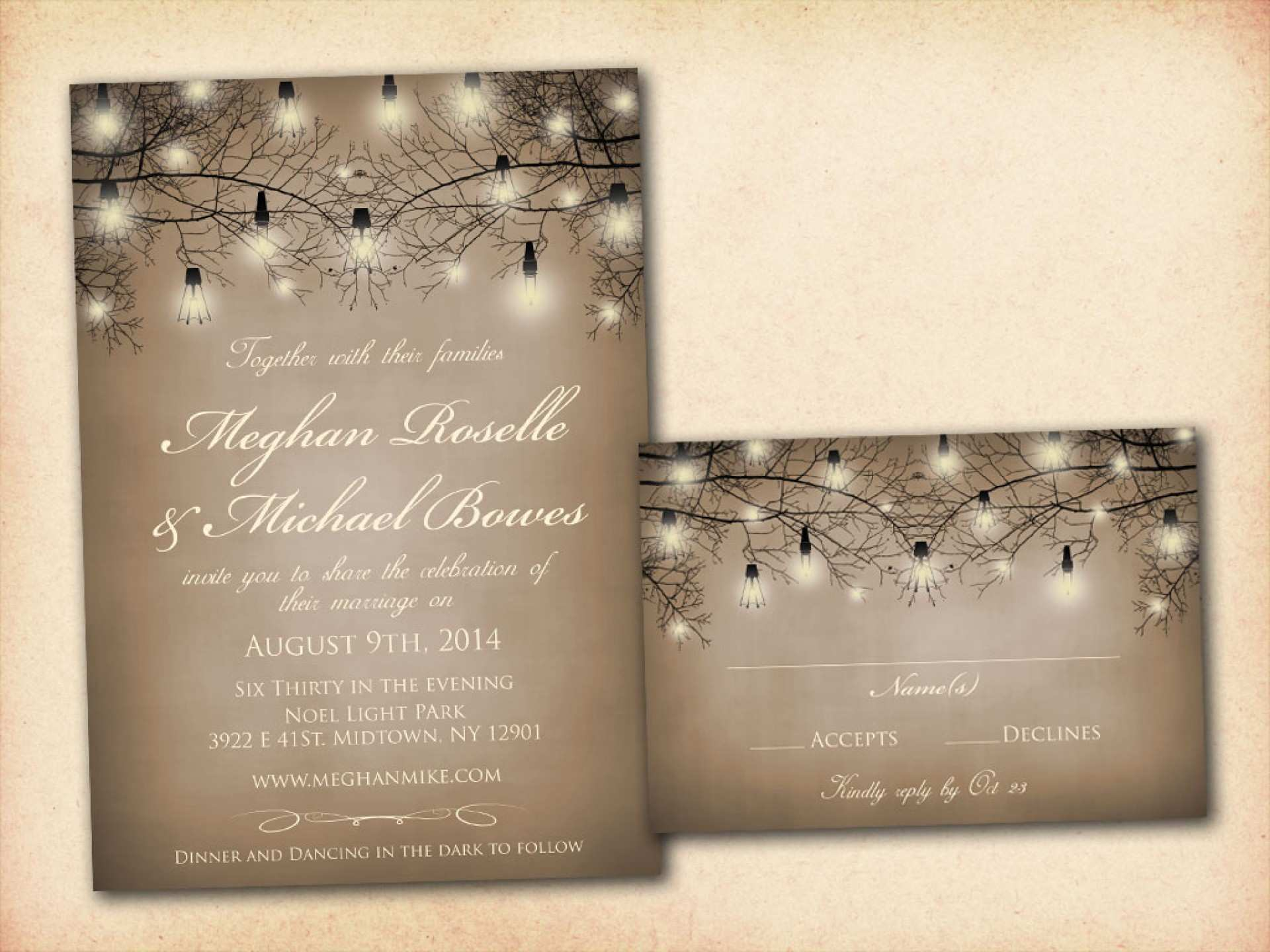 78 Adding Blank Rustic Invitation Template for Ms Word with Blank Rustic Invitation Template