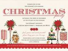 78 Creating Holiday Party Invitation Template for Ms Word with Holiday Party Invitation Template