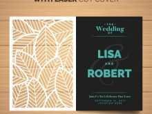 78 Creating Wedding Invitation Template Laser Cut in Word by Wedding Invitation Template Laser Cut