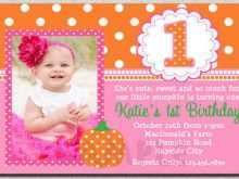 78 Free One Year Birthday Invitation Template for Ms Word for One Year Birthday Invitation Template